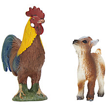 Buy Schleich Farm Life Babies: Kid & Cockerel Online at johnlewis.com