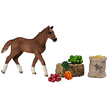 Buy Schleich Farm Life: Foal Feeding Set Online at johnlewis.com