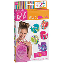 Buy Style Me Up Sparkling Rings Craft Kit Online at johnlewis.com