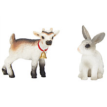 Buy Schleich Farm Life Babies: Kid & Rabbit Online at johnlewis.com