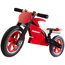 Buy Kiddimoto Superbike, Red & White Online at johnlewis.com