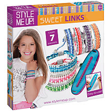 Buy Style Me Up Sweet Links Bracelets Kit Online at johnlewis.com