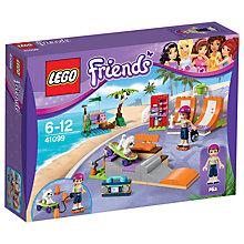Buy LEGO Friends Heartlake Skate Park Bundle with Free Activity Book Online at johnlewis.com