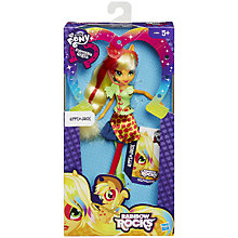 Buy My Little Pony Equestria Girls Applejack Doll Online at johnlewis.com