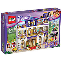 Buy LEGO Friends Heartlake Grand Hotel Bundle with Free Activity Book Online at johnlewis.com