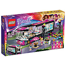Buy LEGO Friends Pop Star Tour Bus Online at johnlewis.com