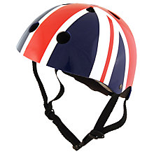Buy Kiddimoto Union Jack Helmet, Small Online at johnlewis.com