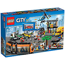 Buy LEGO City City Square Bundle with Free Watch Online at johnlewis.com
