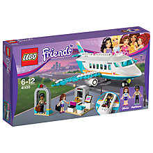 Buy LEGO Friends Heartlake Private Jet Bundle with Free Activity Book Online at johnlewis.com