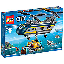 Buy LEGO City Deep Sea Helicopter Online at johnlewis.com