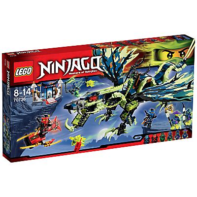 LEGO Ninjago Attack Of Morro Dragon