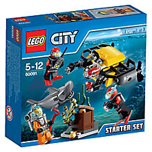 Buy LEGO City Deep Sea Starter Set Online at johnlewis.com