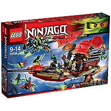 Buy LEGO Ninjago Final Flight of Destiny's Bounty Online at johnlewis.com