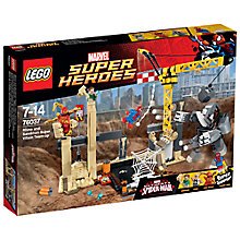 Buy LEGO Super Heroes Rhino and Sandman Super Villain Team-up Online at johnlewis.com