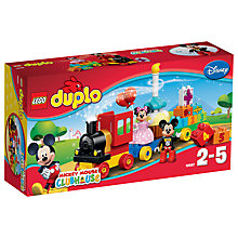 Buy LEGO DUPLO Mickey Birthday Parade Bundle with Free Duplo Snail Online at johnlewis.com