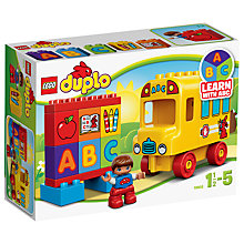 Buy LEGO DUPLO My First Bus Online at johnlewis.com