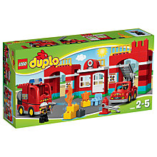 Buy LEGO DUPLO Fire Station Bundle with Free Duplo Snail Online at johnlewis.com