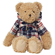 Buy John Lewis Bear In Duffel Coat Soft Toy Online at johnlewis.com