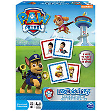 Buy Paw Patrol Look-A-Likes Matching Game Online at johnlewis.com