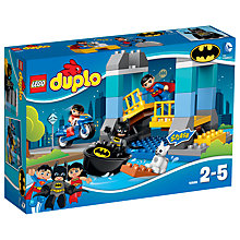 Buy LEGO DUPLO Batman Adventure Bundle with Free Duplo Snail Online at johnlewis.com