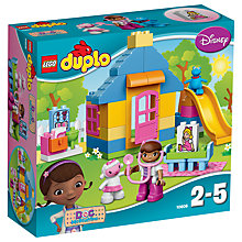 Buy LEGO DUPLO Disney Doc McStuffins Backyard Clinic Bundle with Free Duplo Snail Online at johnlewis.com