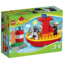 Buy LEGO DUPLO Fire Boat Online at johnlewis.com
