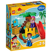 Buy LEGO DUPLO Jake and the Neverland Pirates Jake's Treasure Online at johnlewis.com