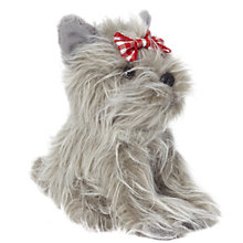 Buy John Lewis Maltese Puppy Soft Toy, Grey Online at johnlewis.com