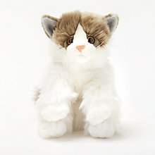 Buy John Lewis Fluffy Cat Online at johnlewis.com