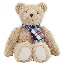 Buy John Lewis Bear With Scarf Soft Toy Online at johnlewis.com