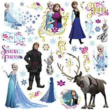 Buy Disney Frozen Glitter Wall Sticker Online at johnlewis.com