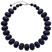 Buy John Lewis Oval Bead Necklace Online at johnlewis.com