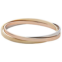 Buy John Lewis Russian Round Bangles, Multi Online at johnlewis.com