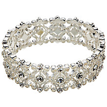 Buy John Lewis Filigree Stretch Bracelet, Silver Online at johnlewis.com