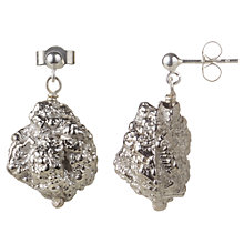 Buy Cobra & Bellamy Silver Drop Earrings, Silver Online at johnlewis.com
