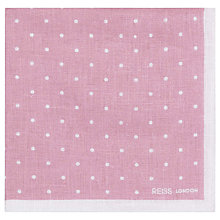 Buy Reiss Raffy Linen Pocket Square Online at johnlewis.com