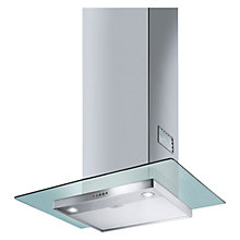 Buy Smeg KFV62DE 60cm Chimney Cooker Hood, Stainless Steel and Glass Online at johnlewis.com