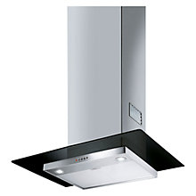 Buy Smeg KFV62DNE Chimney Cooker Hood, Stainless Steel and Black Glass Online at johnlewis.com