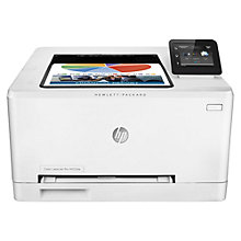 Buy HP LaserJet Pro M252dw Wireless Colour Laser Printer, White Online at johnlewis.com