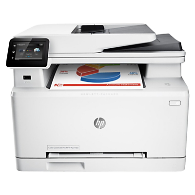 Image of HP LaserJet Pro M277dw Wireless Colour All-in-One Laser Printer & Fax Machine, White