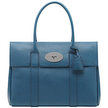 Buy Mulberry Bayswater Bayswater Natural Veg Tanned Leather Grab Bag Online at johnlewis.com