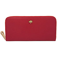 Buy Mulberry Tree Large Leather Zip Around Wallet Online at johnlewis.com