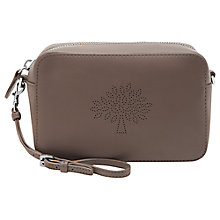 Buy Mulberry Blossom Pochette Leather Bag with Strap Online at johnlewis.com