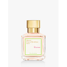 Buy Maison Francis Kurkdjian À La Rose Eau de Parfum, 70ml Online at johnlewis.com