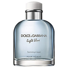 Buy Dolce & Gabbana Light Blue Swimming in Lipari Eau de Toilette Online at johnlewis.com