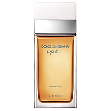 Buy Dolce & Gabbana Light Blue Sunset in Salina Eau de Toilette Online at johnlewis.com