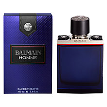 Buy Balmain Homme Eau de Toilette Online at johnlewis.com