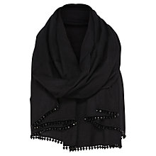Buy Coast Theresa Wrap, Black Online at johnlewis.com