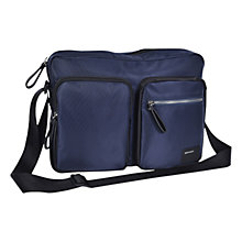 Buy Diesel Phasers Crossbody Laptop Bag, Navy Online at johnlewis.com