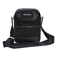 Buy Diesel New Fellow Crossbody Bag, Black Online at johnlewis.com
